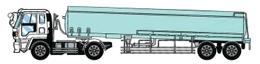 タンク型セミトレーラ